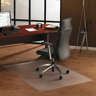 Floortex Cleartex Ultimat Polycarbonate Chair Mat For Hard Floors 48 X 60