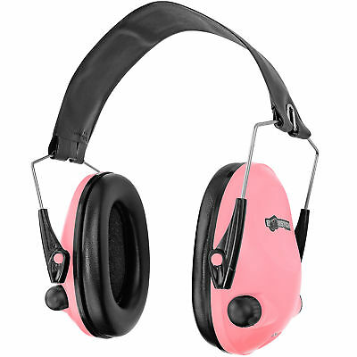 Boomstick Electronic Ear Muff Safety Hearing Noise Protection Gun Shooting Pink Hearing Protection