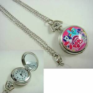 My Little Pony Pink Fashion Pocket Watch -with gift box - NEW. Gateshead Lake Macquarie Area Preview