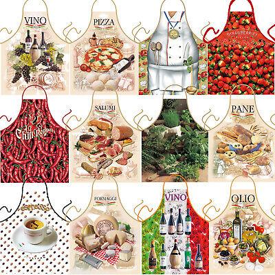Grillschürze Koch Küchen Party Früchte Schürze italienische Küche Wein