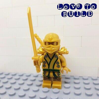 ⭐ LEGO Ninjago Golden Ninja Lloyd Minifigure njo073 from Sets 70503 70505 71239