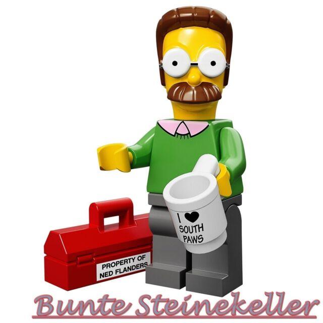 71005 LEGO® Minifigures Nr.7: Ned Flanders aus The Simpsons / Serie 1! NEU !