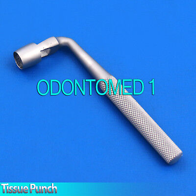 3 Dental Tissue Punch 8mm Angled L Shape Surgical Instruments
