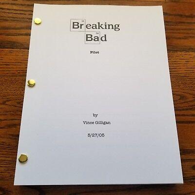 Breaking Bad FULL Pilot Script Screenplay TV Show 58 Pages Bryan Cranston (2008)