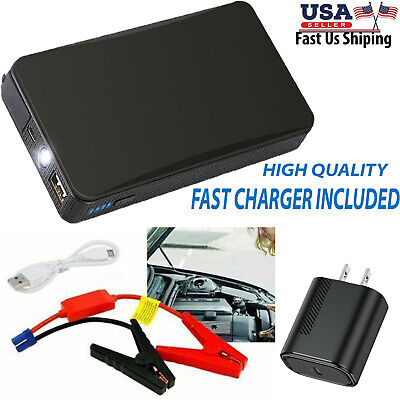 12V 20000mAh Mini Portable Car Jump Starter Power Booster Battery Charger BK