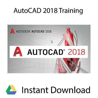 Autodesk Autocad 2018 Professional Video Training Tutorial   Instant Download
