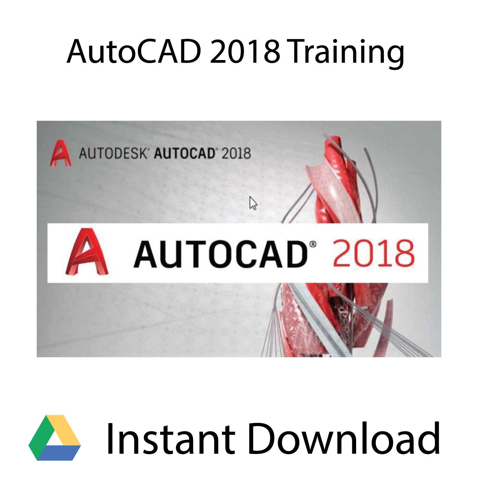 Autodesk AutoCAD 2018 Professional Video Training Tutorial - Instant Download
