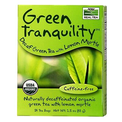 NOW Foods Green Tranquility Tea, Organic, 24 Bags