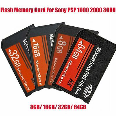 8/16/32GB MS Memory Stick PRO-HG Duo HX MagicGate Card For Sony PSP All