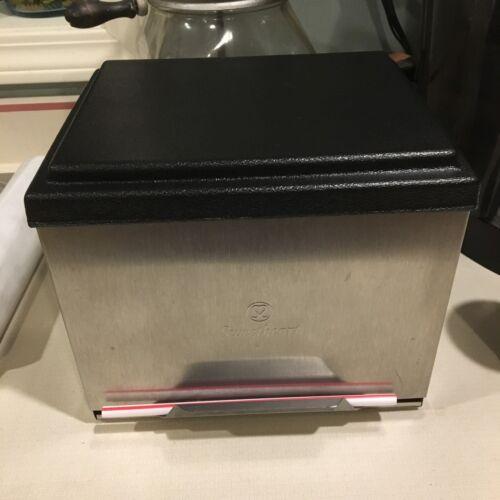 Sweetheart Straw Dispenser Holder Stainless Steel       .           .         f4