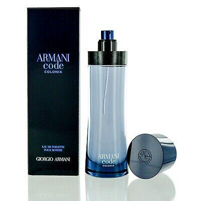 Armani Code Colonia for men by Giorgio Armani Eau De Toilette spray 4.2 (Armani Code For Men Eau De Toilette)