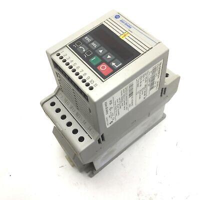 Allen Bradley 160-ba06nps1p1 Ser C Variable Speed Drive 380-460vac 3ph 3hp