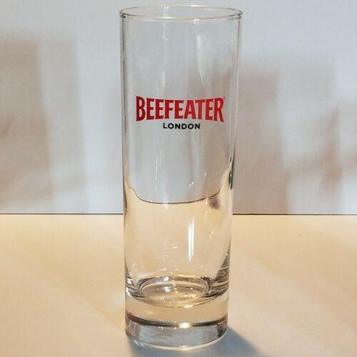 "Beefeater London  .3 Liter 10 oz 6 1/2"" Tall Drink Glass"