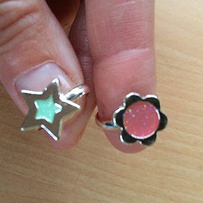 Schöne Kleine Mädchen (2 SUPERSCHÖNE Ringe für kleine Mädchen - Schick - Trendy Und TOP)
