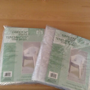2 New Patio Chair Covers ....Both For $5 ! No Holds