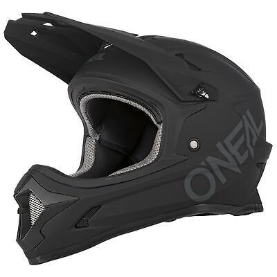 O'Neal Kinder Fullfacehelm Fahrrad Sonus Solid Mountainbike MTB Fidlock DH FR