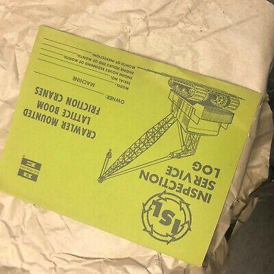 Bucyrus-erie Shovel Crane Excavator Inspection Crawler Bucyrus Erie