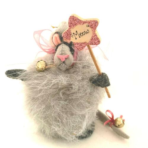 Maus Haus OOAK Mouse Halloween Costume Cat Folk Art Handmade Diana Boud 2002