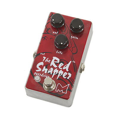 Used Menatone Red Snapper Overdrive Pedal