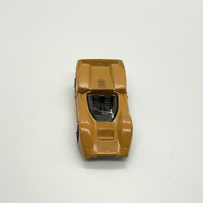Vintage original Redline Hot Wheels Orange Enamel McLaren M6A Near Mint. 1968