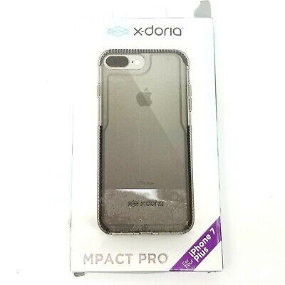 X-Doria iPhone 7 Plus Impact Pro Black Case 3X181301A Free Shipping