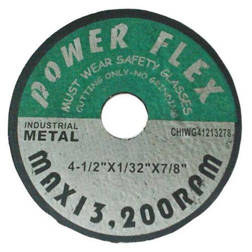 """100pcs  Cut-Off Wheel 4-1/2"""" X 1/32"""" X 7/8"""""""