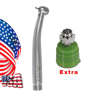 2h Dental Led E-generaror Handpiece 3spray Turbine Fit Kavo Replace Cartridge
