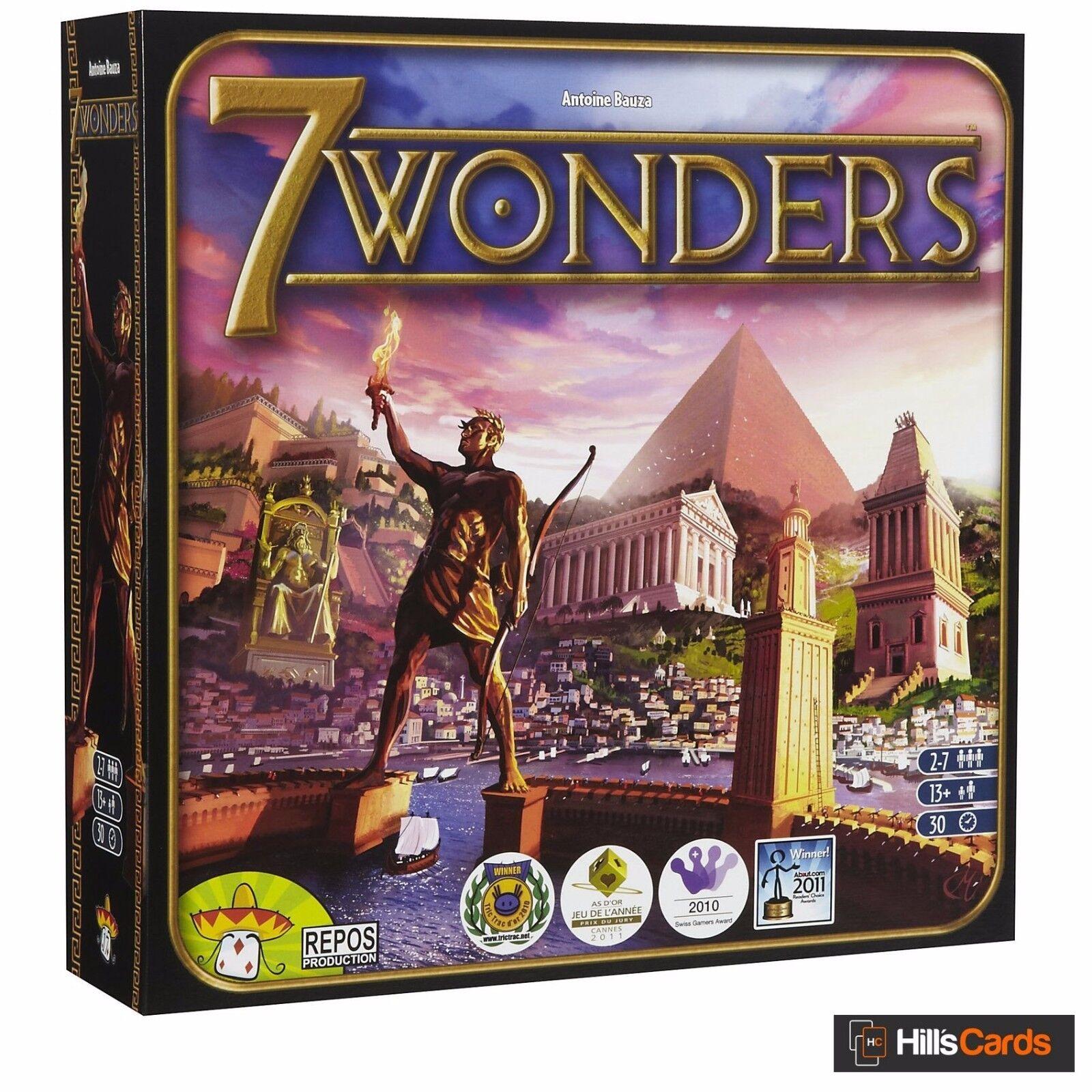 7 Wonders Board Game: Award Winning Civilization Building Card Game SEV-EN01