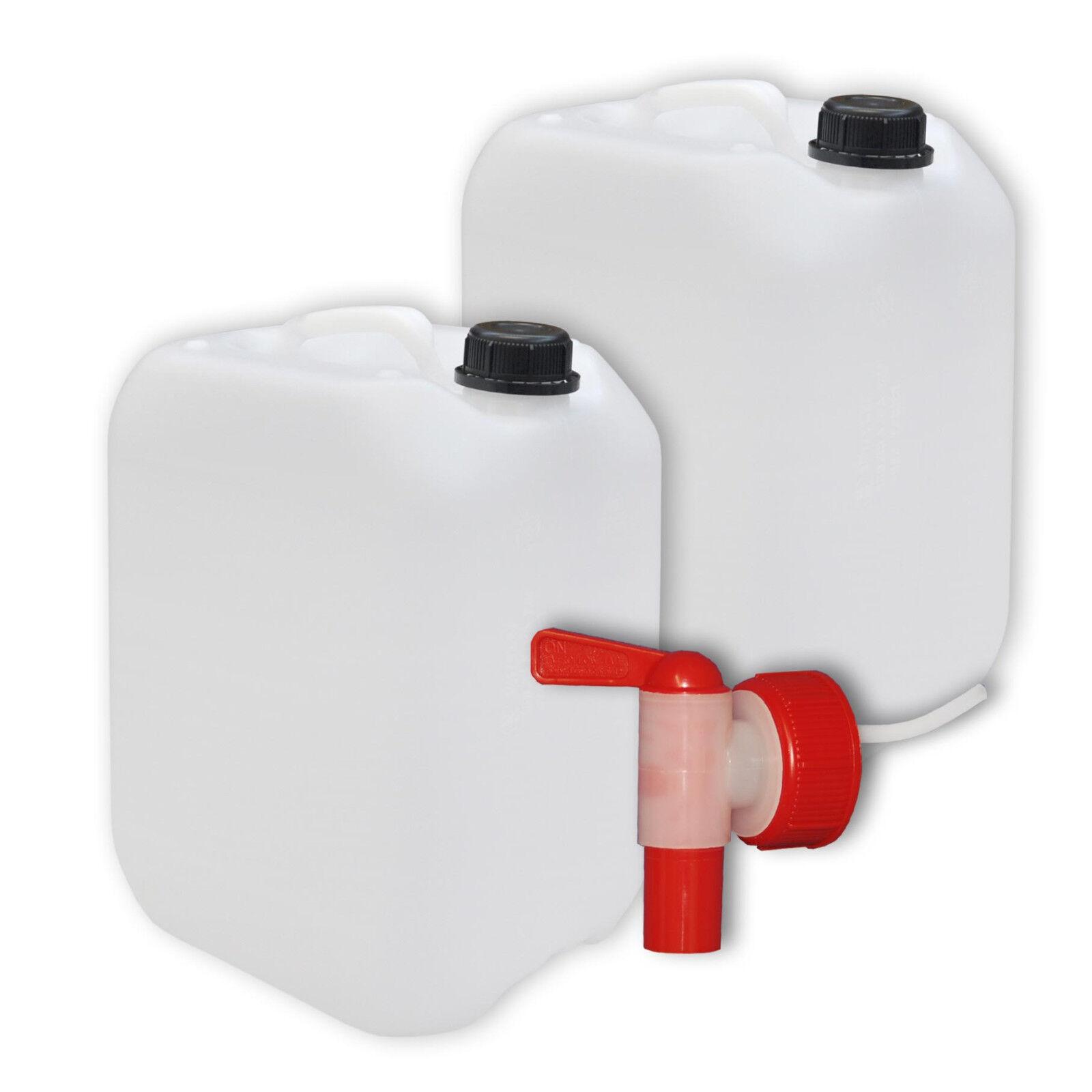 3 x 5 L Kunststoffkanister Wasserkanister Camping Kanister Behälter