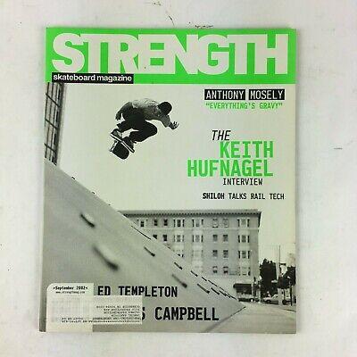 September 2002 Strength Skateboard Magazine The Keith Hufnagel Interview
