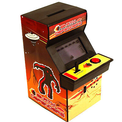 Pay-to-play Electronic Space Invaders Arcade Machine Money Box NIB