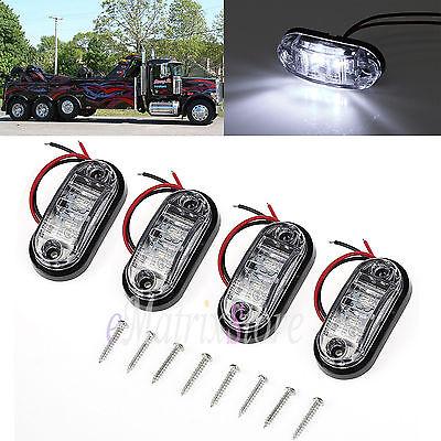 4x 12/24v LED Umrissleuchte Positionsleuchte Begrenzungsleuchte für LKW Auto Van