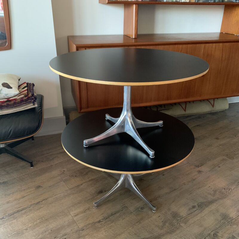 George Nelson Swag Leg Tables (pair)