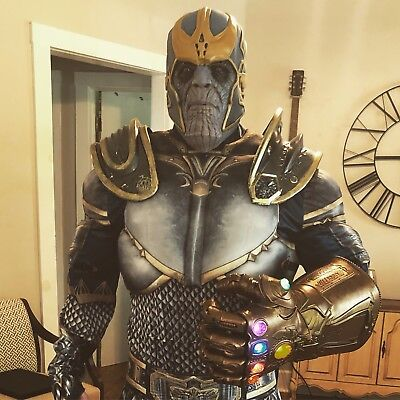 Thanos Costume Avengers Commission cosplay Hallloween Mens Xl Infinity - Hallloween Costume