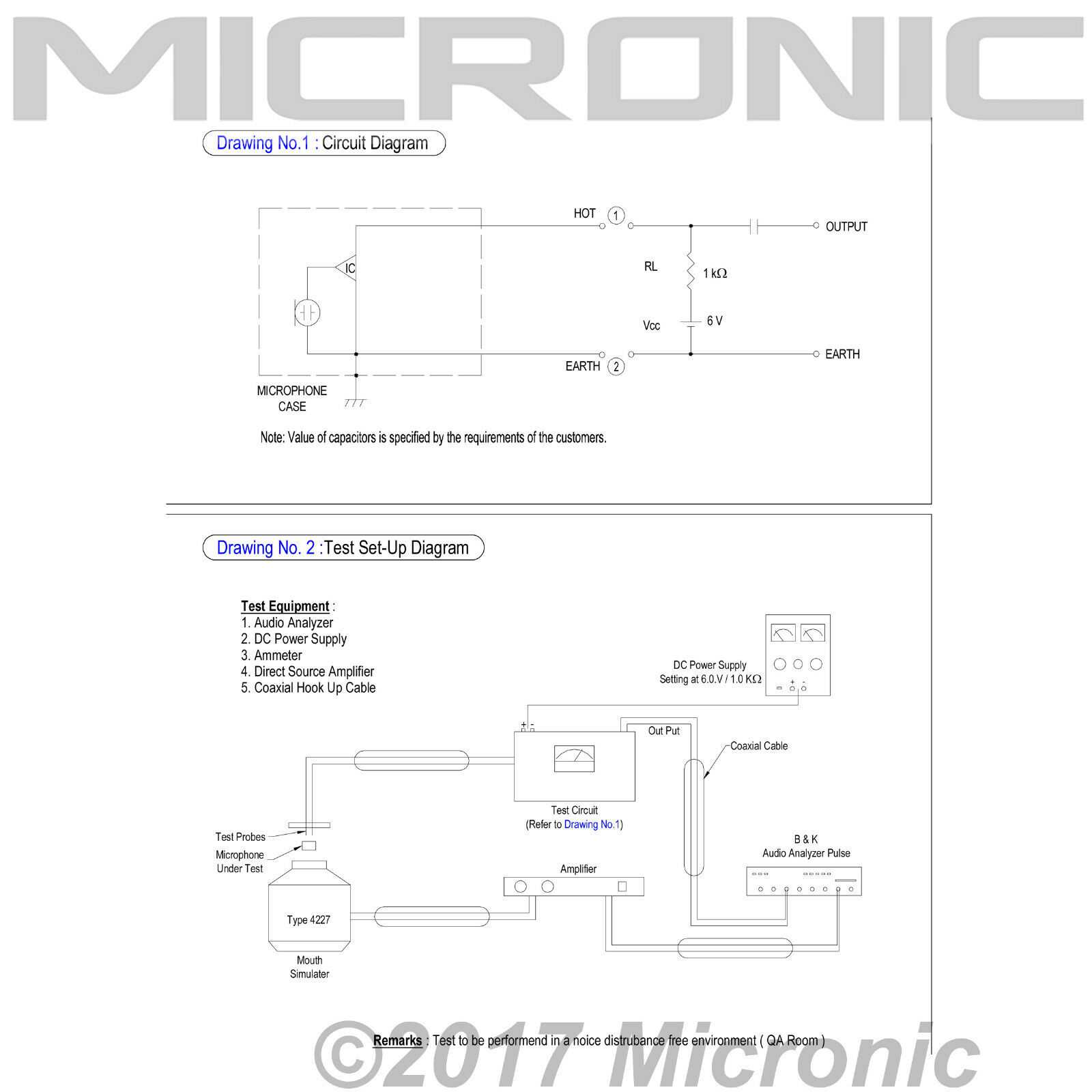 Electret Condenser Microphone Circuit Diagram Nemetas Is The Schematic For Additionally Wiring Diagrams Source 5 Of 6 1x Primo Em8003f Omnidirectional