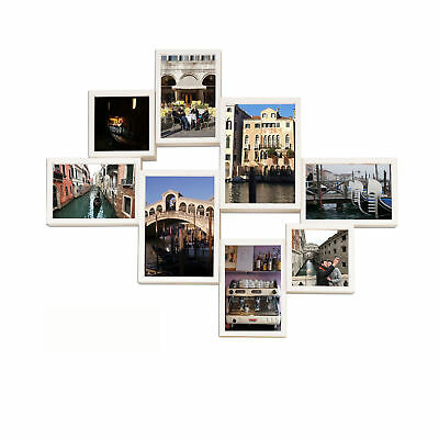 Texas Collage (Collage Bilderrahmen - Shinsuke® - Texas - weiß - Größe 62,5x50,5 cm)