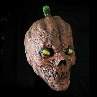 Pumpkin Teeth  Evil Adult Latex Halloween Mask
