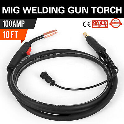 Mig Welding Gun 100a 10 K530-6 Replacement Torch For Lincoln 100l Us Seller