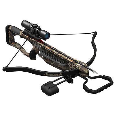 Barnett BAR78099 Assault Recurve 245 FPs Crossbow, Mossy Oak Breakup Country