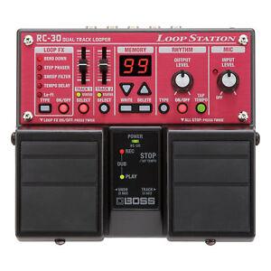 Boss RC-30 RC30 Loop Station Guitar Pedal