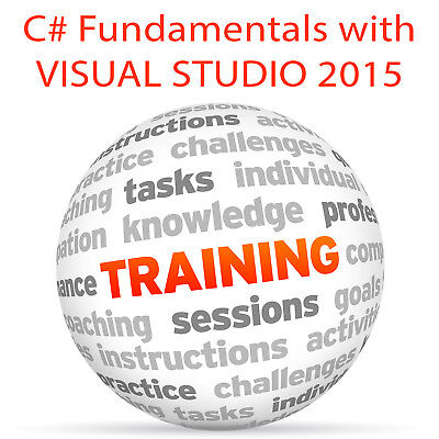 C# Fundamentals with VISUAL STUDIO 2015 - Video Training Tutorial DVD ()