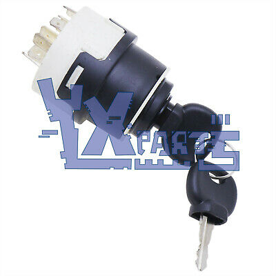 Ignition Switch Wk 11881365 For Volvo Backhoes Bl60 Bl70 Skid Steer Mc60 Mc70