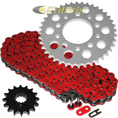 Red O-Ring Drive Chain & Sprockets Fits HONDA VF750C Magna 750 RC43 1994-2004