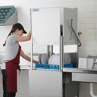 High Temp Single Door Commercial Restaurant Dishwasher 208230v 3 Phase