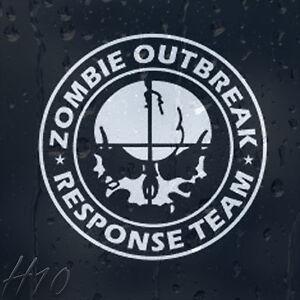 Zombie-Skull-Target-Outbreak-Response-Team-Car-Decal-Vinyl-Sticker