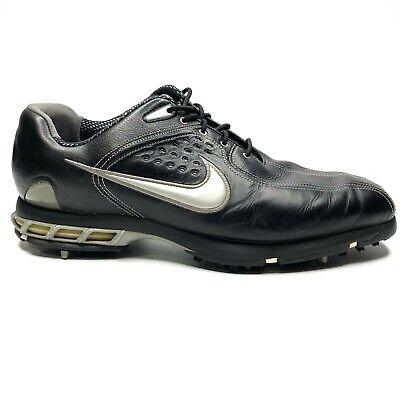 Nike Air Zoom Elite Mens Golf Shoes Size 12W Black 317479-001 Air Zoom Elite Golf Shoe