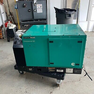 Cummins Power Generator 3200 Hours Cummins Onan Commercial Qd With Many Extras