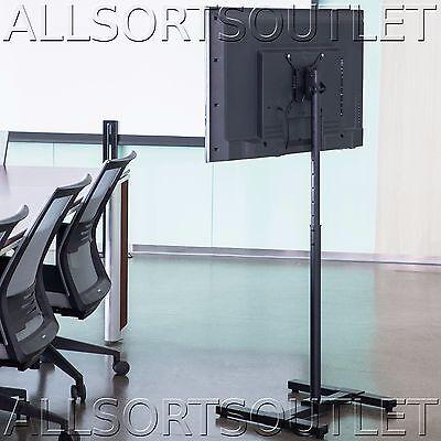 "TV Monitor Exhibition Floor Stand Mount Adjustable VESA LCD Screens 13"" to 42"""