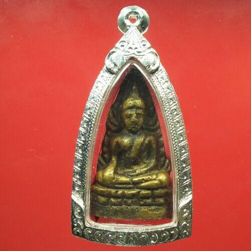 Old Rare Phra Buddha Chinnaraj Indojeen Wat Suthad ,Thai buddha amulet