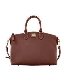 Dooney & Bourke Pebble Grain Leather Satchel